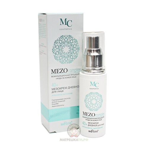 Белита Мезокрем дневной для лица 40+ MEZOcomplex